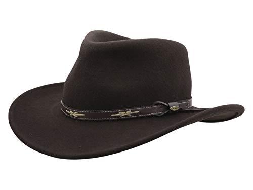 14f7a89d2a6 Jual Scala Classico Men s Wool Felt Outback Hat