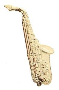 Alto Saxophone Music Pin