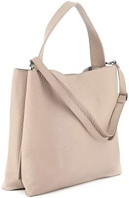 Luxury Fashion | Orciani Woman B02031SOFTCONCHIGLIA Beige Leather Tote | Spring Summer 20