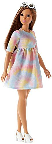 Boneca Barbie Fashionistas N77 To Tie Dye For Curvy - FBR37 - Mattel