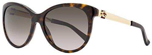 Gucci Women's GG 3784S Dark - Sunglasses Havana Gucci Dark
