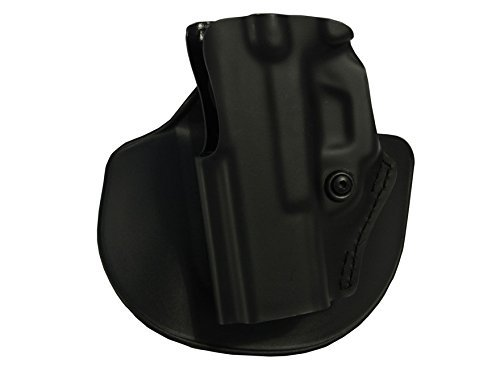 Safariland 5198 Open Top Paddle & Belt Slide with Detent Glock 34 35 Holster, Plain Black, Left Hand