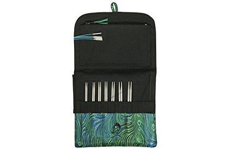 (Hiya Hiya Steel Interchangeable Knitting Needles, Small Size Set, 5 Inch Tips)