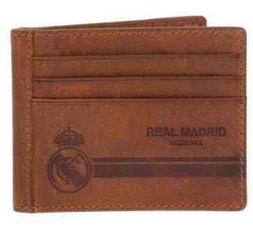 Billetero Producto Oficial Real Madrid Piel Marrón Modelo 2 ...