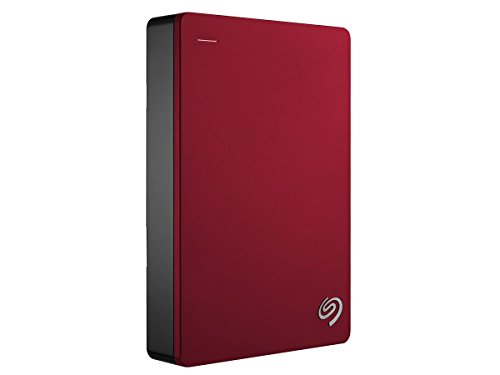 Seagate Backup Plus 4TB Portable External Hard Drive USB 3.0, Red (STDR4000902)
