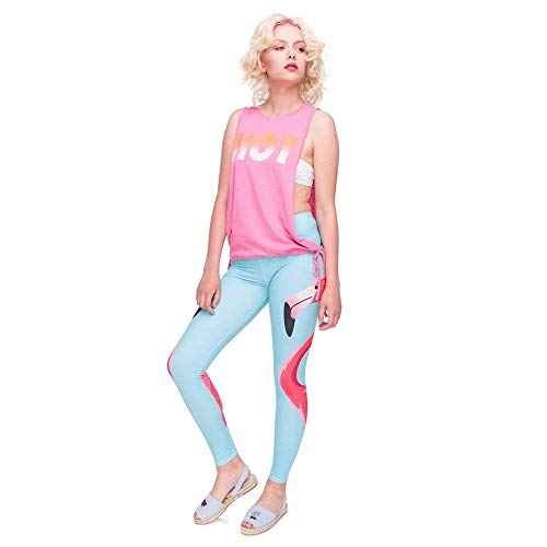 Flamingo Yoga Skinny Fashion Donna Sportivi Alta Love Elasticizzati Stampa Giovane Pantaloni Vita Da Lga45931 Leggings 1XZxqa