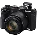 Canon PowerShot G3 X Digital Camera w/1-Inch Sensor and 25x Optical Zoom - Wi-Fi & NFC Enabled (Black)