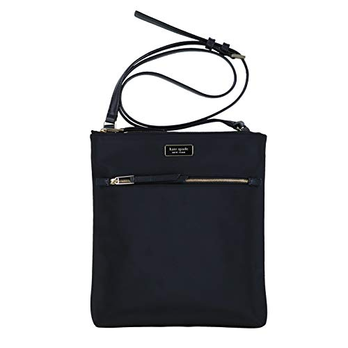 Kate Spade New York Dawn Flat Crossbody Purse (Black) -