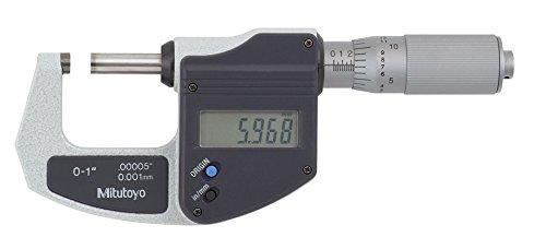 - Mitutoyo 293-832-30 Digimatic Micrometer, Range: 0-1