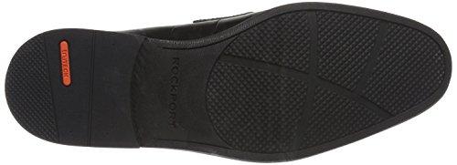 Rockport Herren Style Conncected Penny Slipper, Schwarz (Black Leather), 40 EU