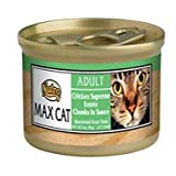 Nutro Nutro Max Cat Chicken Supreme Entree Chunks in Sauce Cat Food 3 oz cans / case o Canned Food, My Pet Supplies