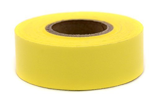 ChromaLabel 3/4 inch Color-Code Labeling Tape | 500 inch Roll (Yellow) - Labeling Yellow Tape