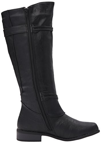 Stivale Da Equitazione Brinley Co Womens Oliva-wc Nero Largo