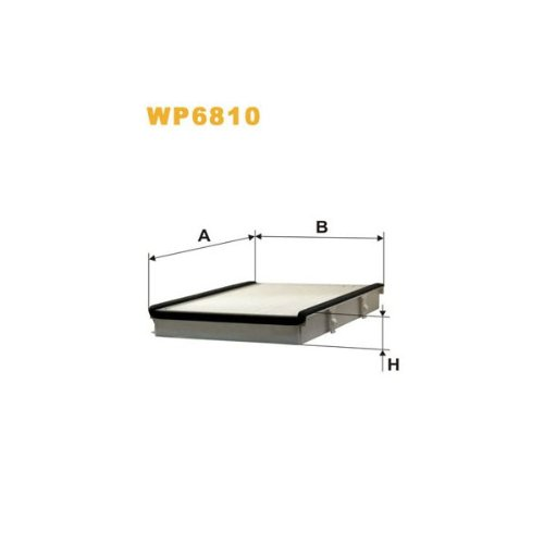 Wix Filters WP6810 Cabin Air Filter: