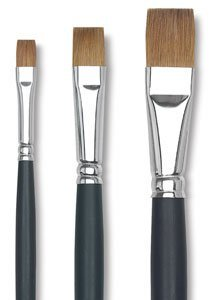 Old Holland Kolinsky Sable Brush 7003 Bright Long Handle 4