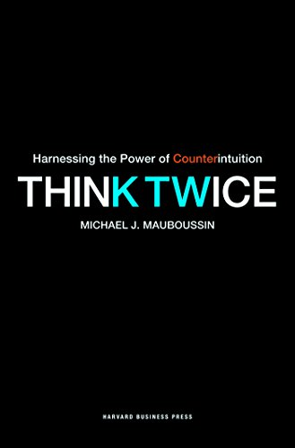 Cover of Think Twice book by Michael Mauboussin