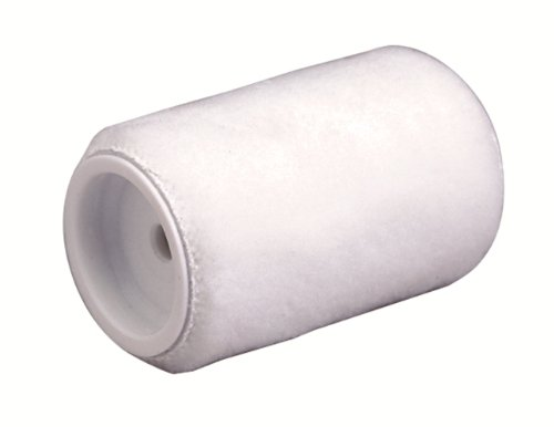 Dynamic HB461794 Lint Free Trim Roller Refills, 3/8-Inch Nap, 2-Pack, 4-Inch