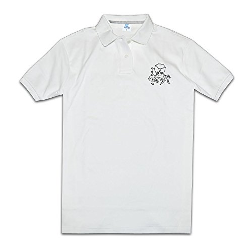Price comparison product image Men Performance Golf Polo Shirts Robot Octopus On White Funny Commemorative Edition Printing Polo Shirt