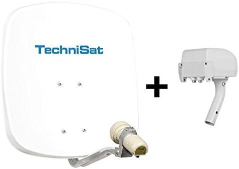 TechniSat Digi dish 45 satélite-Tocadiscos TechniRotor con ...