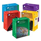img - for AOP LIFEPAC 4th Grade 5-Subject Complete Boxed Set (Paperback) (4th Grade) book / textbook / text book