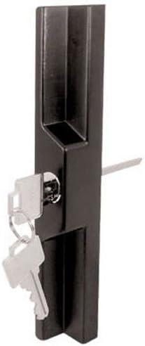 Slide-CO 141860 puerta corredera exterior Pull con clave, Negro ...
