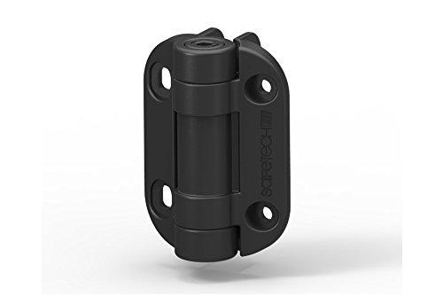 Safetech TopKlik Self Closing Gate Hinge (SHG-90L) (Black) by Safetech Hardware