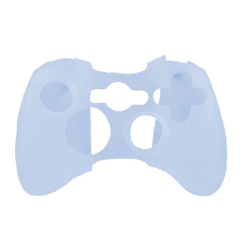 uxcell Light Blue Silicone Skin Case Cover for Microsoft Xbox 360 Controller