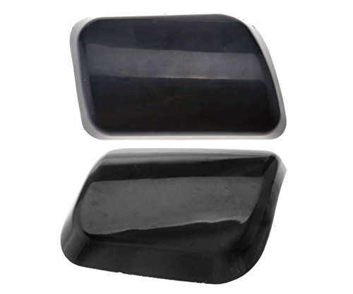 2pcs Headlight Washer Jet Cover Cap for VOLVO XC90 02-06 30698209 30698208 (Washer Headlamp Cover)