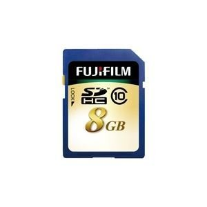 Fujifilm SDHC card 8GB CLASS10 SDHC-008G-C10