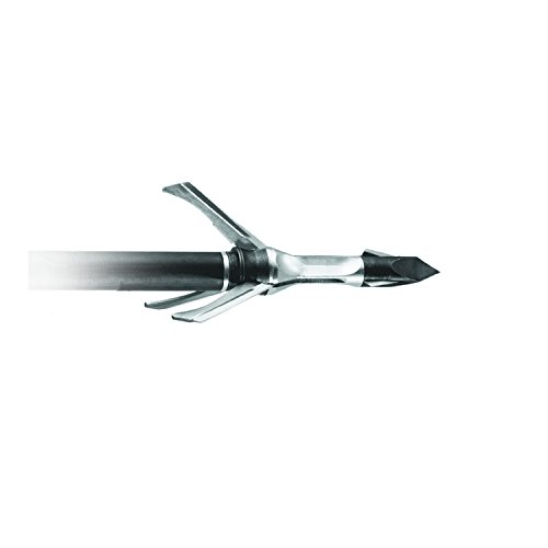 (Grim Reaper X-Bow Mechanical Broadhead Razor Tip 1 1/2-Inch Cut 3 Blade, 125 Grain)