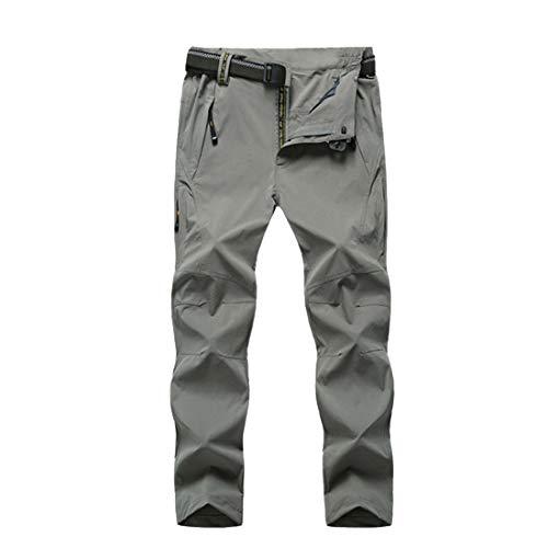 Grigio Waveni Asciugatura Escursioni Nero Ad Impermeabile Traspirante Pantaloni Uomo Rapida Per Xxl Flessibile Pantaloni OwBS5rZwxn