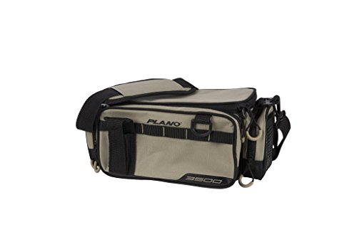 Plano Weekend Series Tackle Case Gray 2-3500 Stowaways Included