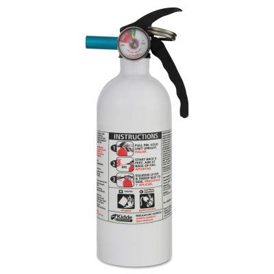 FX511 Automobile Fire Extinguisher, 5 B:C, 100psi, 14.5h x 3.25 Dia, 2lb [ESS]