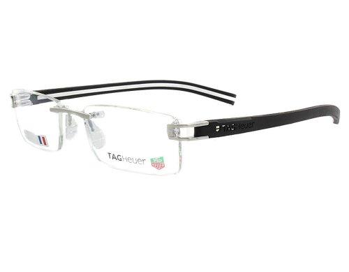Tag Heuer Track S 7641 Eyeglasses Prescription Eye Glasses 003 Pure/Black/White New