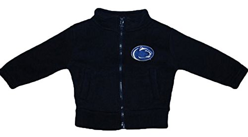 Penn State Nittany Lions NCAA Infant Toddler Fleece Zippered Jacket (4 Toddler )