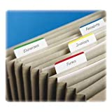 Post-it Tabs, 2 in Angled Lined, Assorted Primary