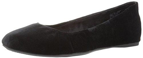 G.H. Bass & Co. Women's Felicity Ballet Flat, Black, 10 M US (Co 10 1)