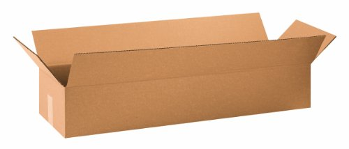 Aviditi 34106 Long Corrugated Box, 34