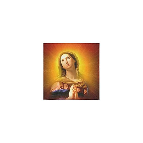 Christmas/Thanksgiving Day Towels Religious Catholic Vingin Mary Thin Soft Towel(One Side)(13x13inches) by Virgin Marry Towel