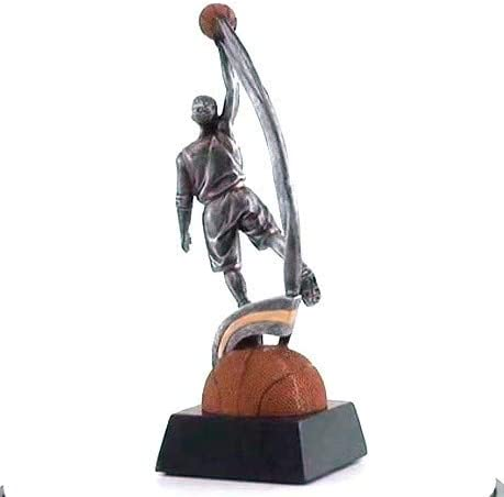 Male Customize Now Decade Awards Basketball Motion Xtreme Trophy Basketball MVP Award 9 Inch Tall
