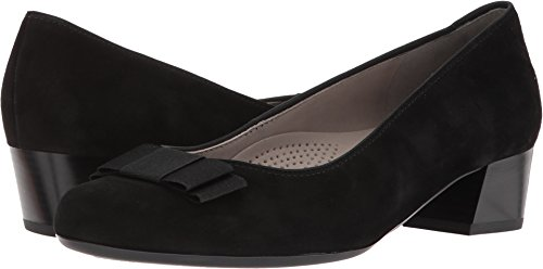 ara Women's Nisha Pump, Black Suede, 6 M US