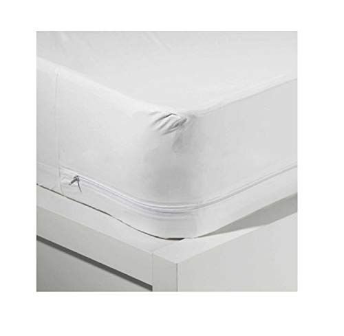 - King Vinyl Zippered Hypoallergenic, Waterproof, Durable, Certified Bed Bug Proof Mattress Encasement Protector Cover