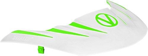 Flex 8 Paintball Goggles - Virtue Stealth Paintball Mask Visor for VIO Contour/Extend / Dye I4 / Empire E-Flex / V-Force Grill/Profiler and More - Lime / White