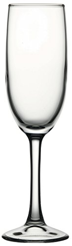 - Hospitality Glass Brands 44819-024 Imperial Plus Champagne Flute Glass, 5.75 oz. (Pack of 24)