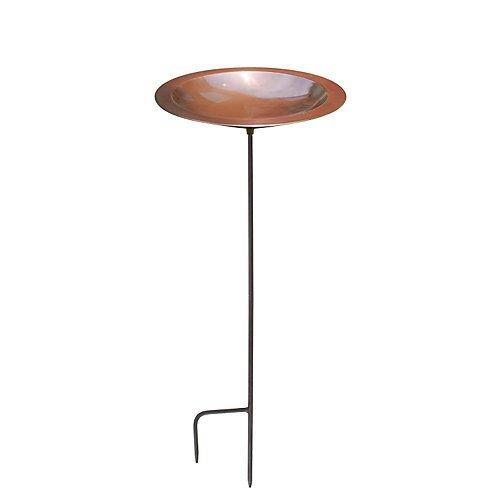 Birdbath Ceramic Bronze - Achla Designs Classic II Copper Birdbath