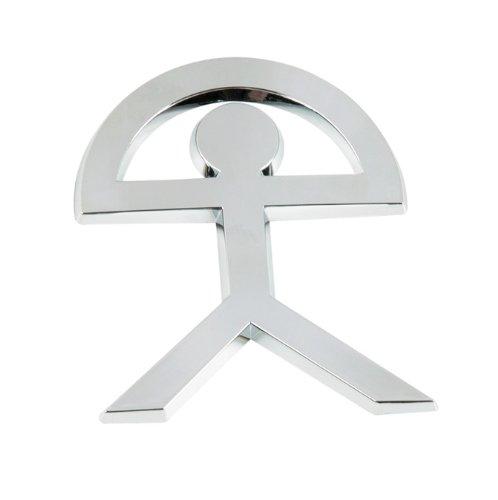SUMEX Log1670 - Emblema Indalo Cromado, 55X70 mm Suministros Exteriores S.A.