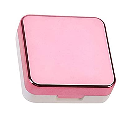 IQ Contact Lenses Storage Box Contact Lens Case Box Eyes Care Kit
