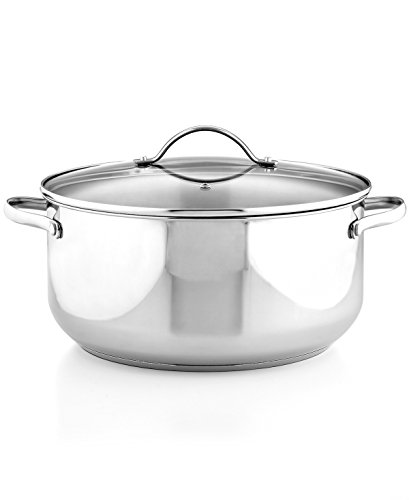 (Tools of the Trade Stock Pot 8 Quart Basics Stainless Steel)