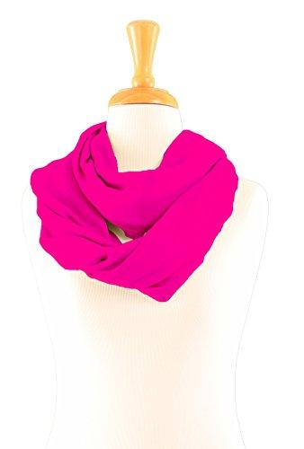 Mundo Unicolor Choice Sarongs Color Mujeres En Your Para Pink Bufanda Brillante 1 De w4xBdXBUq