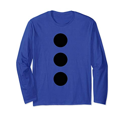 Snowman Mime DIY Halloween Costume tshirt long sleeved -